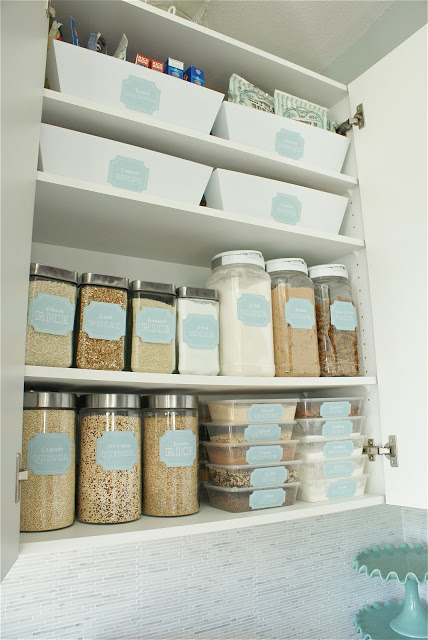 Dollar Store Beautiful Pantry