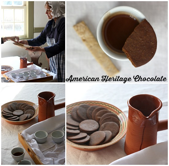 Enjoying a wonderful start to our morning with American Heritage Chocolate #chocolatehistory