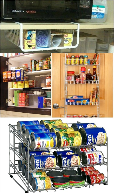 Ideas for more storage in pantry