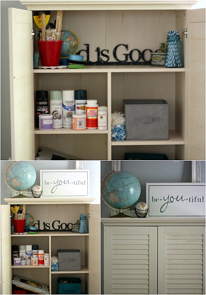 Ideas for storing crafts