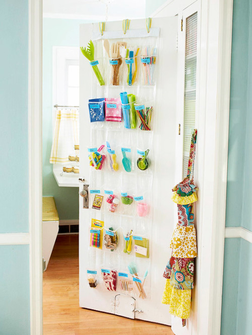 Kitchen Catch-all for decluttering