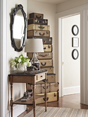 Suitcase storage