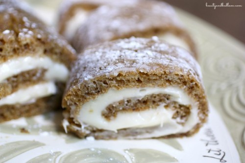 This Delicious Pumpkin Roll treat just screams comfort food at its finest.