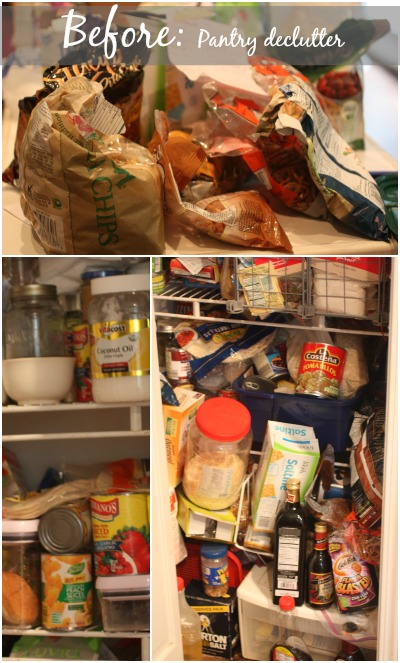 Tips to a realistic Pantry Declutter
