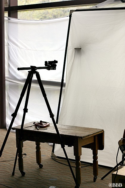 Food Photography Set Up at Southern Living