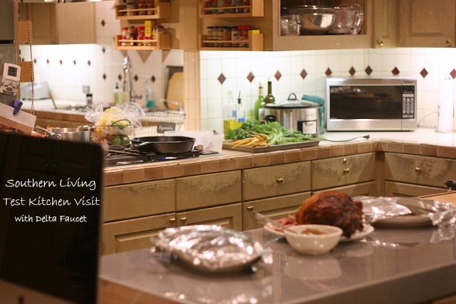 Southern Living Test Kitchen with Delta Faucet