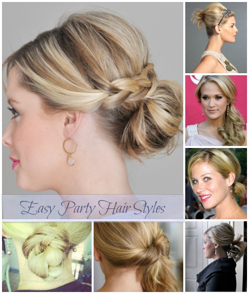 These 10 Easy Party Hair Styles are perfect for those rushed days