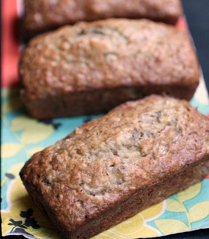 Banana Nut Bread using homemade baking mix