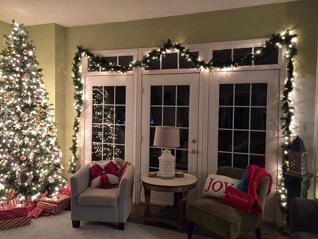 My Christmas happy place corner