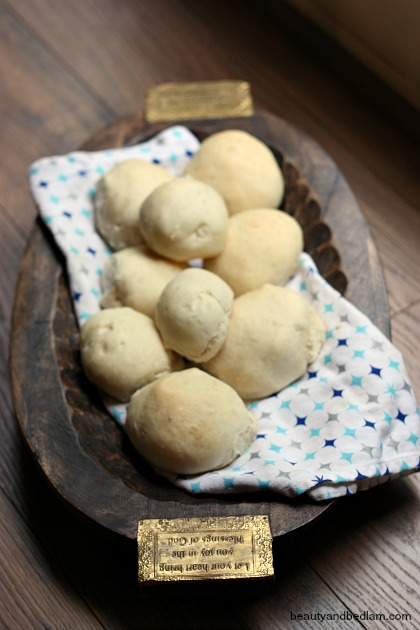 Easy Yeast Dough for rolls or loaves