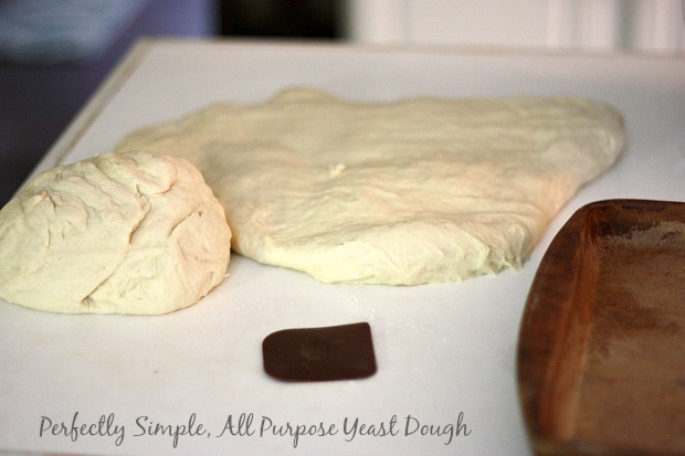 Wonderfully versatile all purpose yeast dough