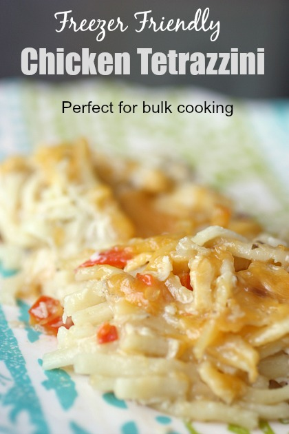 Chicken Tetrazzini (Freezer Friendly Meal)