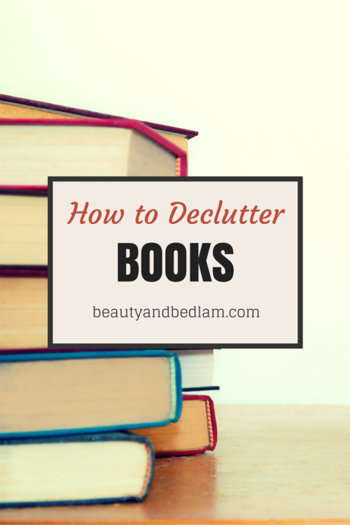 how-to-declutter-books-