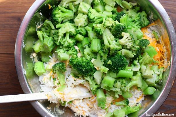 Chicken, Broccoli, Rice Casserole - freezer meal