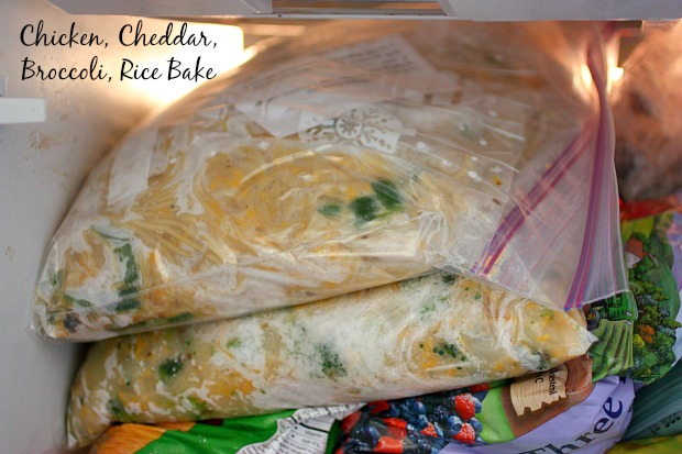 Chicken, Cheddar, Broccoli and Rice Bake - freezer perfect