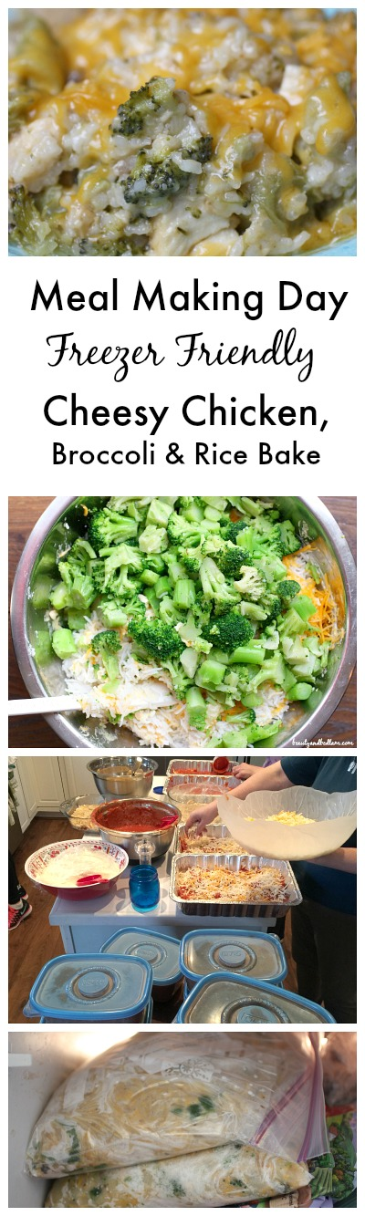Have you tried a Meal Making Day- Cheesy Chicken, Broccoli & Rice Bake for the win!