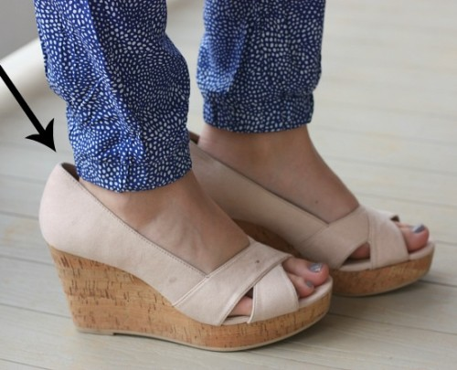 Love these wedges $5 H&M