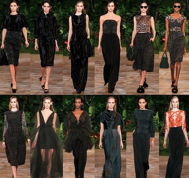 csiriano fall fashion show