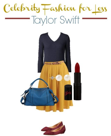 Taylor Swift Frugal Fashion