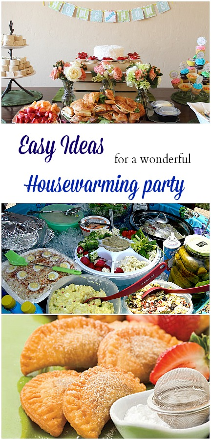 Easy Ideas for a wonderful Housewarming Party. Such simple, yet meaningful tips