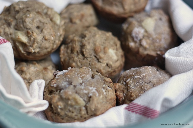 Oatmeal Applesauce Muffins - such a healthy and delicious option