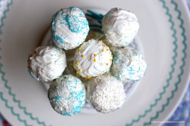 Cake pops in minutes...it's our favorite addition to a party.