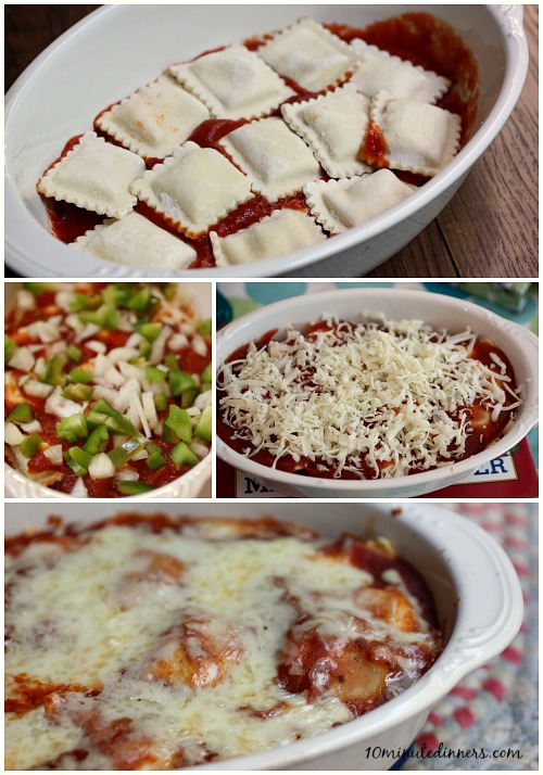Easy-and-Delicious-Ravioli-Bake-with-optional-veggies