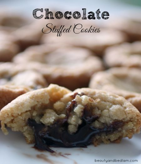 Take your favorite cookie recipe and add a surprise touch!