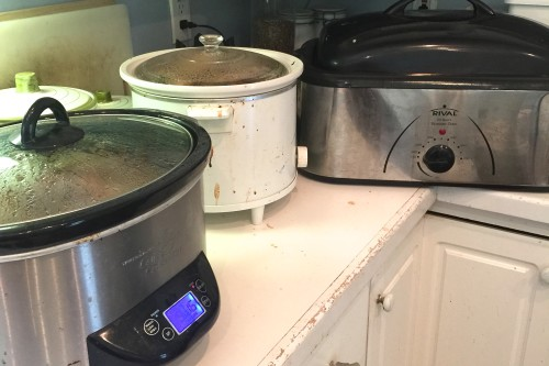 crock pot bulk cooking