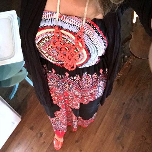 maxi summer dress - $2 yard sale