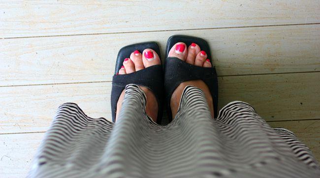 yard sale shoes