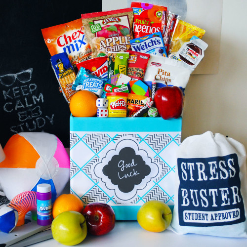 Create healthy care packages for your college student