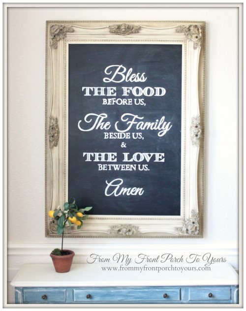 Dining room chalkboard ideas and inspiration