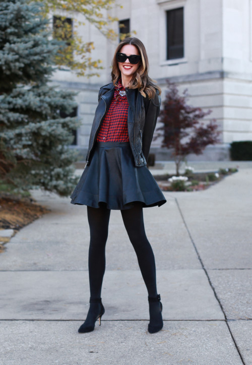 Dressed up plaid