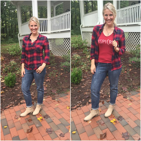 Fall and Winter plaid fashion