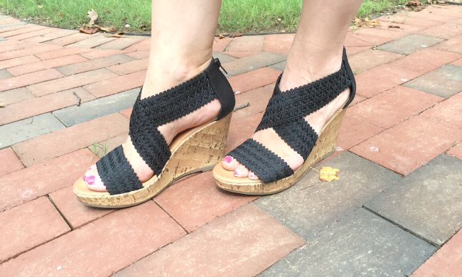 Frugal FAshionista shoes just $5