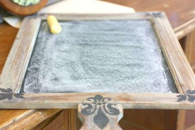 How to cure a new diy chalkboard