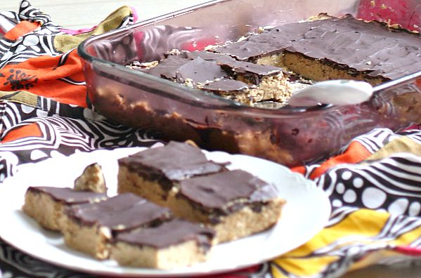Easy No Bake Buckeye Bars