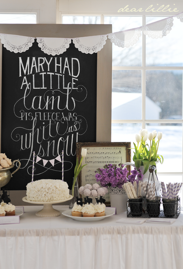 Make Your own Large Chalkboard to Hang.