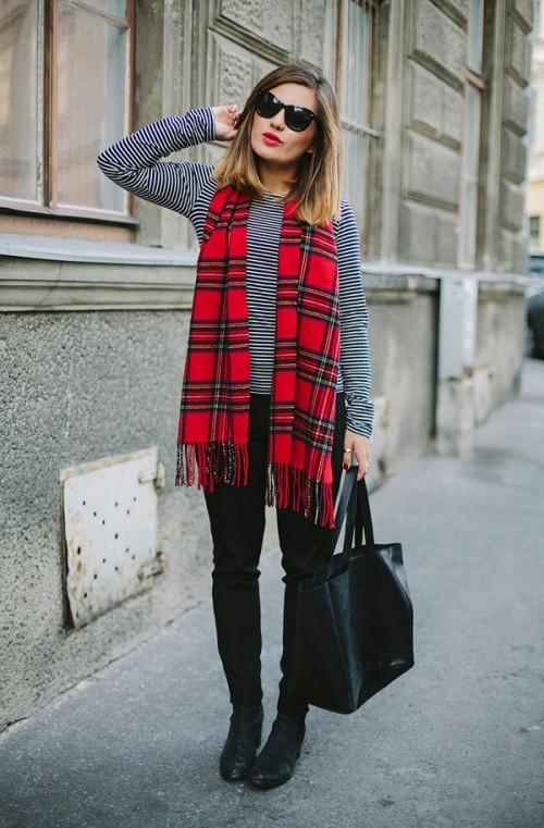 plaids and stripes