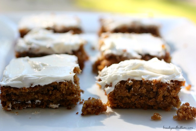 Gluten Free Oatmeal Bars or Cake