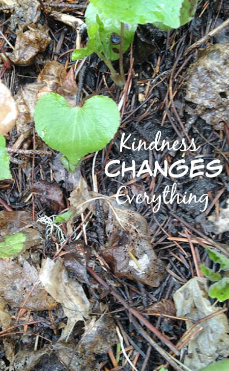 Kindness really does change everything. Pick one of these little difference makers today