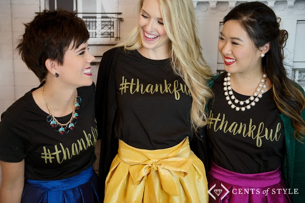 Thankful tshirt