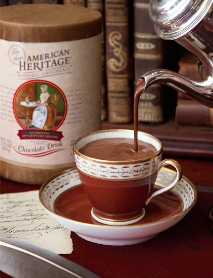 American Heritage Chocolate Giveway and recipes