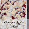 Shortcut Cherry Pie Bars (or Apple)