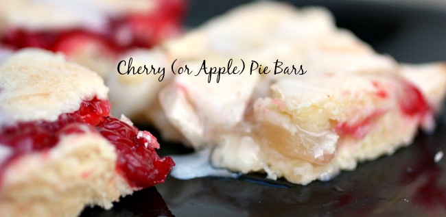 These delicious Cherry Pie Bars make every day better