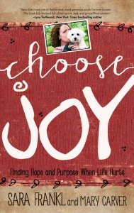 Frankl. Sara. Carver. Mary. CHOOSE JOY. Final cover. 050515.