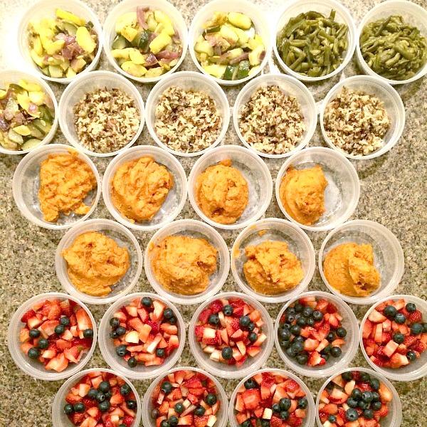 Healthy Prep Ahead inspiration ideas