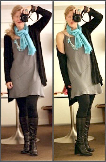 one dress, three ways to wear it