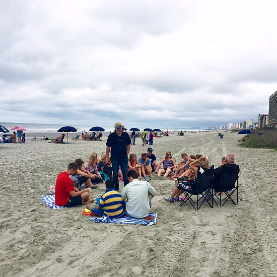 devotionals on the beach
